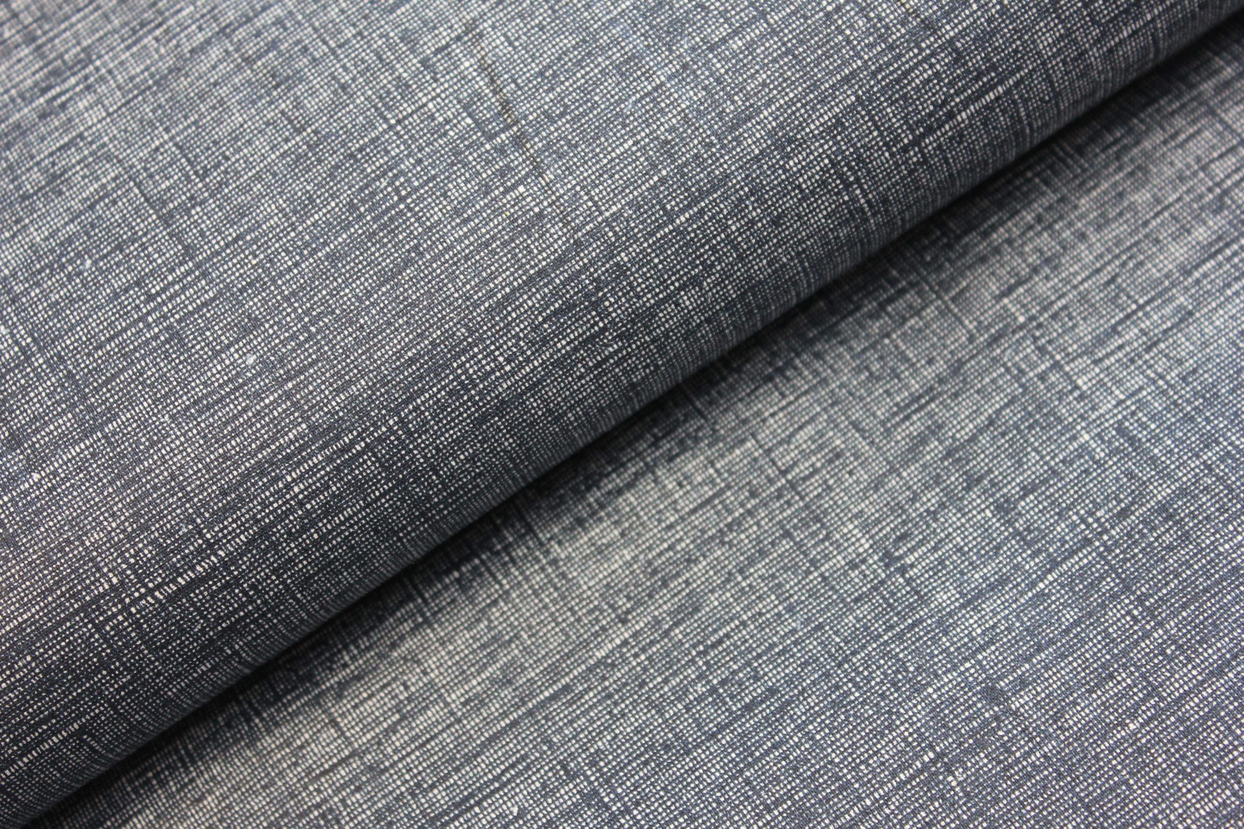 432915af1010 Tmavě modrá jednobarevná - režný efekt