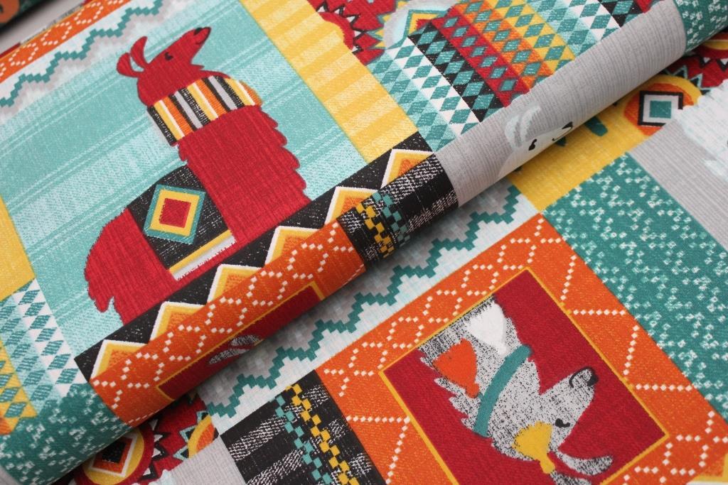 c062786a0 Lamy patchwork - červená | MOJELÁTKY.CZ - látky | metráž | galanterie