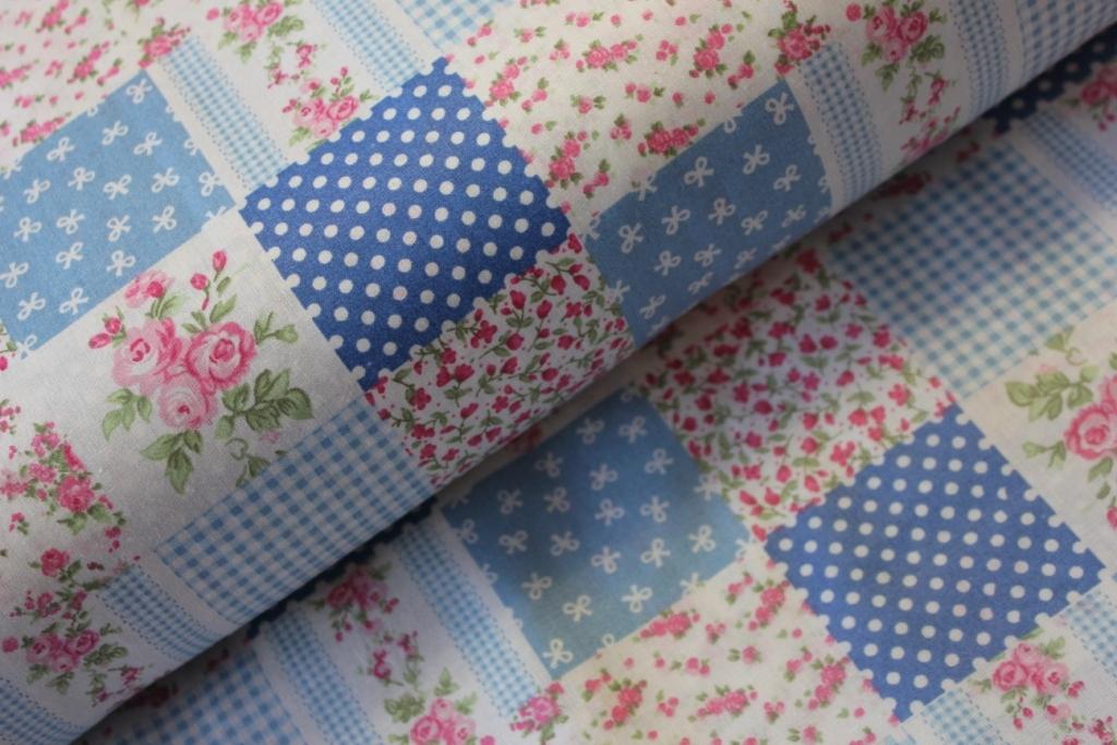 Modrý patchwork  341decbf13a