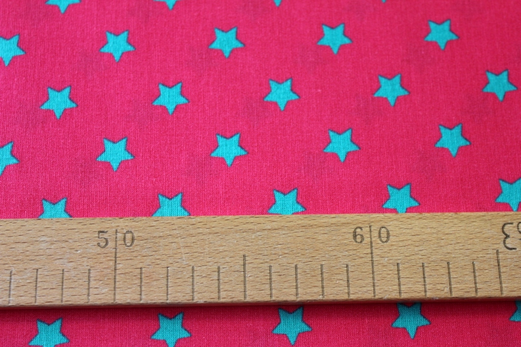 Tyrkysové hvězdy na růžové  8714b0e151